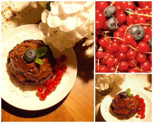 Avocado Chocolate Cupcakes