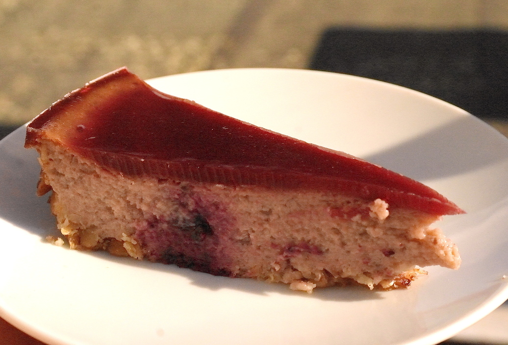 how to make cheesecake topping with jam